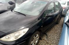 Peugeot 307 2005 Black for sale