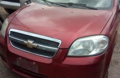 Very Clean Chevrolet Aveo 2014 Red for sale