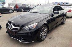 Mercedes-Benz E550 2013 Black for sale