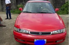 Neat Mazda 626 1999 Red for sale