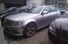 Mercedes Benz C350 2008 Silver for sale