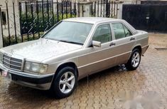Mercedes-benz 190 1989 Gold for sale