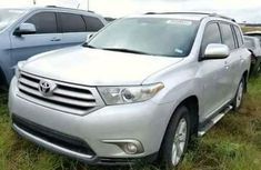 Toyota Highlander 2009 Silver for sale