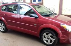 Pontiac Vibe 2004 Red for sale