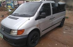 Mercedes-benz Vito Bus 2002 Silver for sale