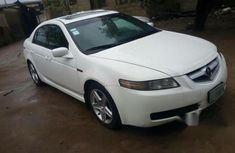 Clean Acura TL 2005 White for sale