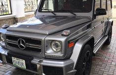Mercedes-Benz G-Class 2014 Silver for sale