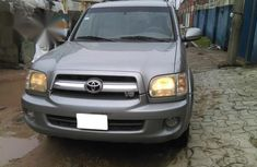 Toyota Sequoia 2005 Silver for sale