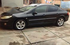 Neatly Used Peugeot 407 2006 Black for sale