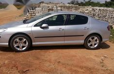 Clean Peugeot 407 2014 Silver for sale