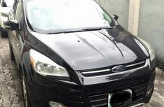 Clean Ford Escape 2014 Black for sale