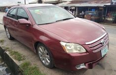 Clean Toyota Avalon 2007 Red For Sale
