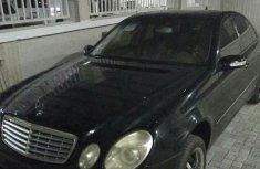 Tukunbo Mercedes-bens E320 2003 Black
