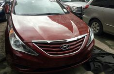 Hyundai Sonata 2012 Red for sale
