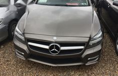 Mercedes Benz CLS550 2012 Gray for sale