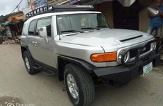 Neatly Used Toyota FJ Cruser 2008 Silver