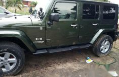 Jeep Wrangler 2008 Green for sale
