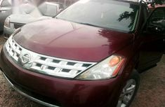 Super Clean Nissan Murano 2004 Red