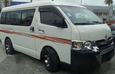 Clean Toyota Hiace Bus 2010 White for sale