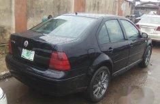 Volkswagen Bora 1999 Black for sale