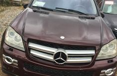 Mercedes Benz GL450 2007 Red for sale