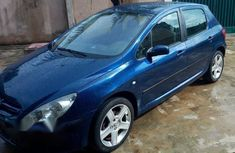 Clean Peugeot 307 2004 Blue for sale