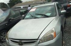 Neat Honda Accord 2001 Silver for sale