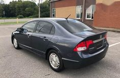 Clean Honda Civic Hybrid 2008 Black for sale