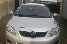 Toyota Corolla Le 2009 Silver for sale