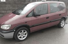 Opel Zafira 1998 Red for sale