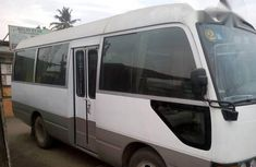 Clean Neat Toyota Coaster 2004 White for sale