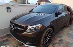 Mercedes-benz GLE 450 2016 Brown for sale