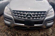 Clean Mercedes-benz ML 350 2015 Gray