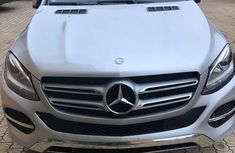 Mercedes-benz GLE350 2017 Silver for sale