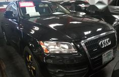 Clean Audi Q5 2007 Black for sale