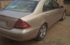 Neatly Used Mercedez Benz C240 2002 Gold for sale