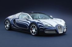 Bugatti Veyron 16.4 Grand Sport L'Or Blanc with magnificient porcelain bodyshell and interior fittings