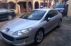 Clean Peugeot 407 2012 Silver for sale