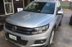 Volkswagen Tiguan 2012 Silver for sale