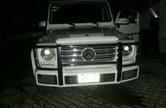 Mercedes-benz G550 2017 White for sale