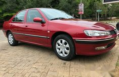 Peugeot 406 2001 Red for sale