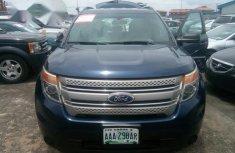 Tokunbo Ford Explorer 2013 Blue for sale