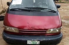 Nigeria Used Toyota Previa 1992 Red for sale