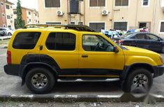 Nissan Xterra 2001 Yellow for sale