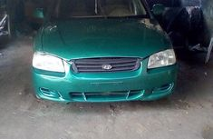 Hyundai Accent 2002 Green for sale