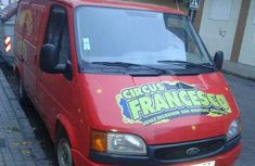 Ford Transit 1999 Petrol Manual Red for sale