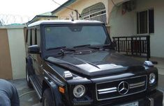 Mercedes Benz G550 2003 Upgraded To 2014 Black