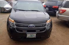 Neatly Used Ford Explorer 2012 Black For Sale