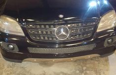Mercedes-Benz Ml 500 2006 Black for sale