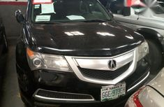 Clean Acura MDX 2007 Black